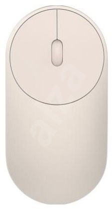 Xiaomi Portable Mouse Gold - Myš