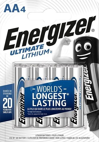 Energizer Ultimate Lithium AA/4 - Jednorázová baterie