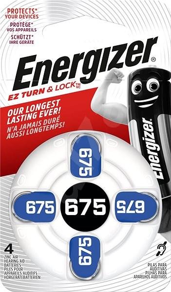 Energizer 675 DP-4 pro audioprotetiku - Knoflíkové baterie
