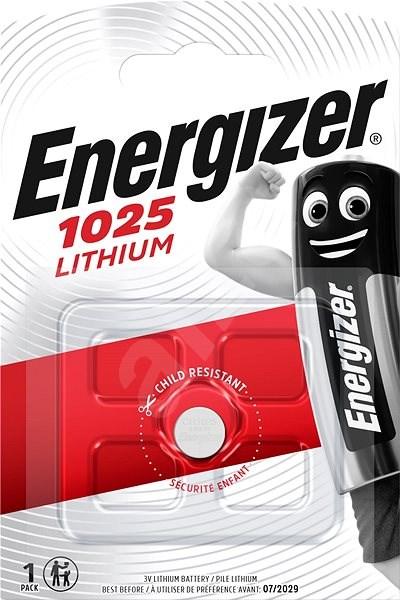 Energizer Lithiová knoflíková baterie CR1025  - Knoflíkové baterie