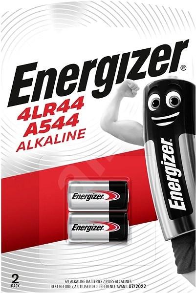 Energizer Speciální alkalická baterie 4LR44/A544  2 kusy - Jednorázová baterie