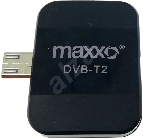 Maxxo T2 HEVC/H.265 Mobile HD TV Tuner - DVB-T2 Receiver