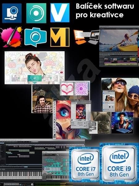 Intel Creator Software balíček - registrace na MSI - Elektronická licence