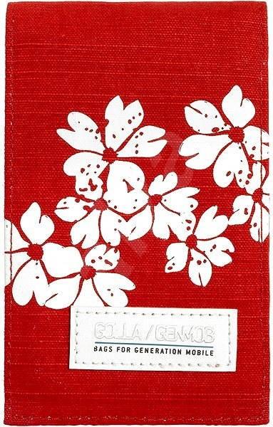 GOLLA Visby červené - Pouzdro na mobilní telefon