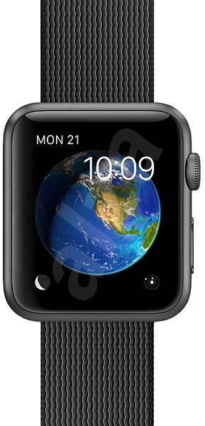 DEMO Apple Watch Sport 42mm Vesmírně šedý hliník s černým řemínkem z tkaného nylonu - Chytré hodinky