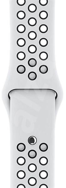 Apple Sport Nike 38mm Platinový/černý DEMO - Řemínek