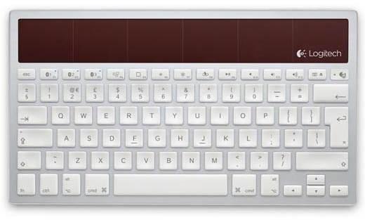 Logitech Wireless Solar Keyboard K760 US - Klávesnice