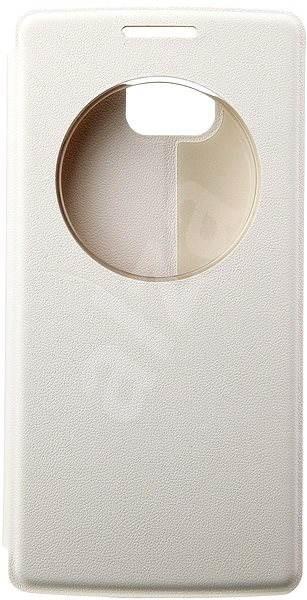 THL Cover Smart flip bílý (pro 2015) - Pouzdro na mobilní telefon