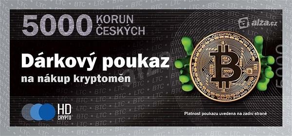Elektronický poukaz na nákup kryptoměn v hodnotě 5000 Kč - Poukaz