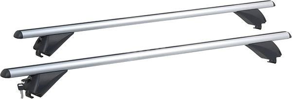 COMPASS Příčný nosník zamykací hliníkový 120cm - Střešní nosiče