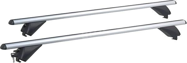 COMPASS Příčný nosník zamykací hliníkový 135cm - Střešní nosiče