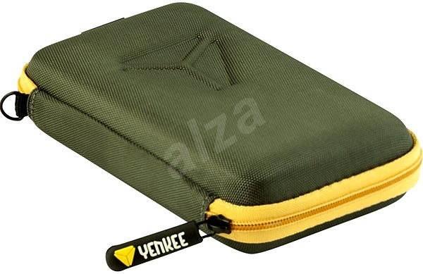 Yenkee YBH A25GY šedo/žluté - Pouzdro na pevný disk