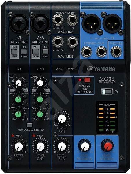 YAMAHA MG06 - Mixážní pult