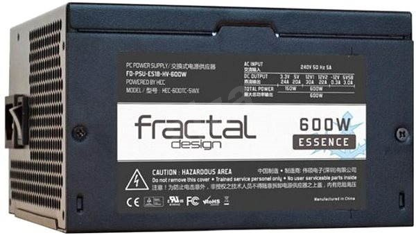 Fractal Design Essence 600W - Počítačový zdroj