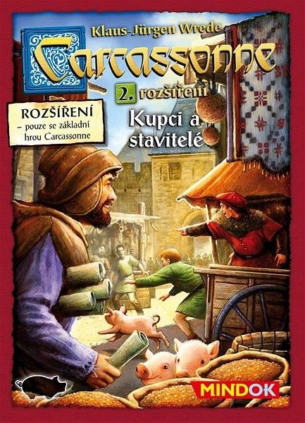 Carcassonne – Kupci a stavitelé 2. rozšíření - Rozšíření společenské hry