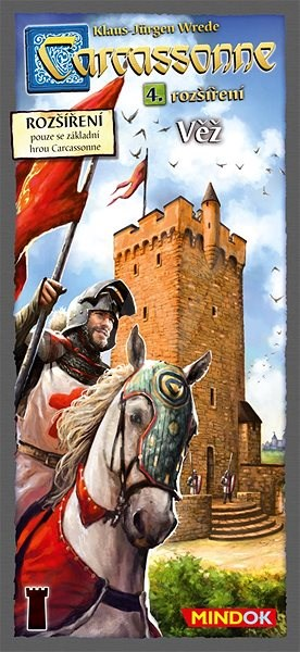 Carcassonne – Věž 4. rozšíření - Rozšíření společenské hry