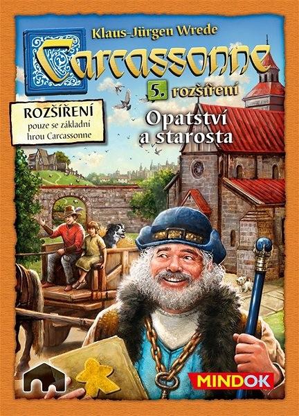 Carcassonne – Opatství a starosta 5. rozšíření - Rozšíření společenské hry