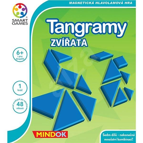 Smart Tangramy - Zvířata - Společenská hra