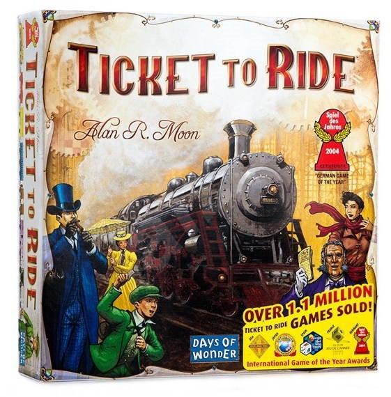 Ticket To Ride - Společenská hra