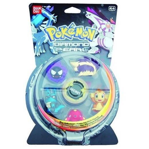 Pokémon Diamond & Pearl: Sběratelské figurky 5+1 -