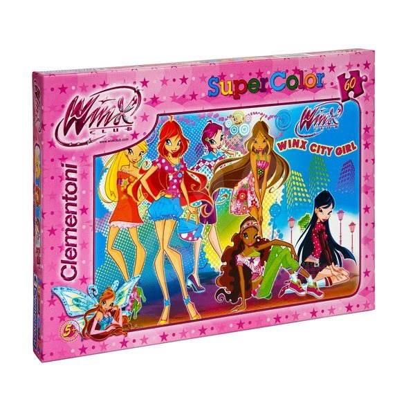 WinX City Girl  - Puzzle