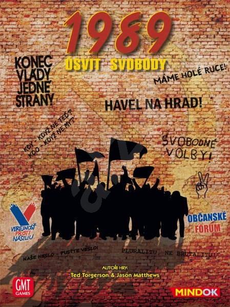 1989: Úsvit svobody - Společenská hra