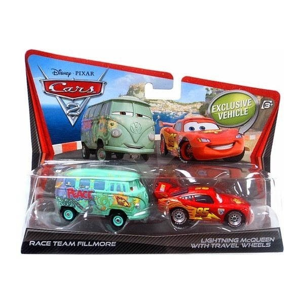 Cars 2 - Fillmore a Blesk McQeen -