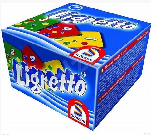Ligretto modré - Společenská hra