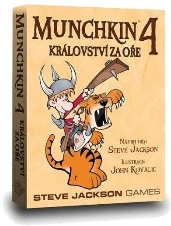 Munchkin 4th Enlargement - The kingdom behind the worm - Card Game Expansion