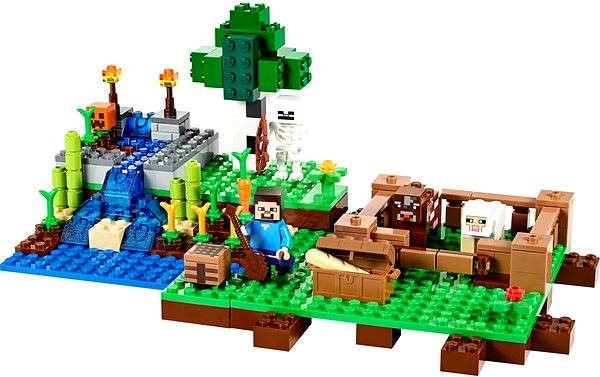 LEGO Minecraft 21114 Farma - Stavebnice