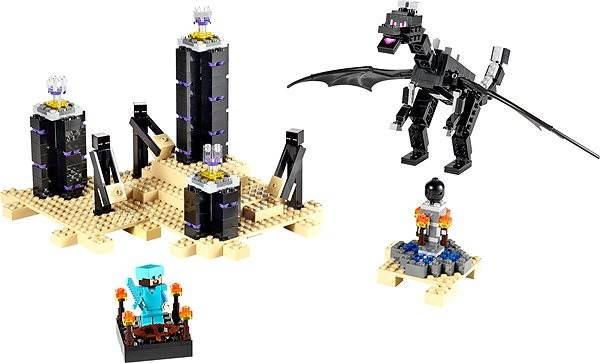 LEGO Minecraft 21117 Drak Ender - Stavebnice