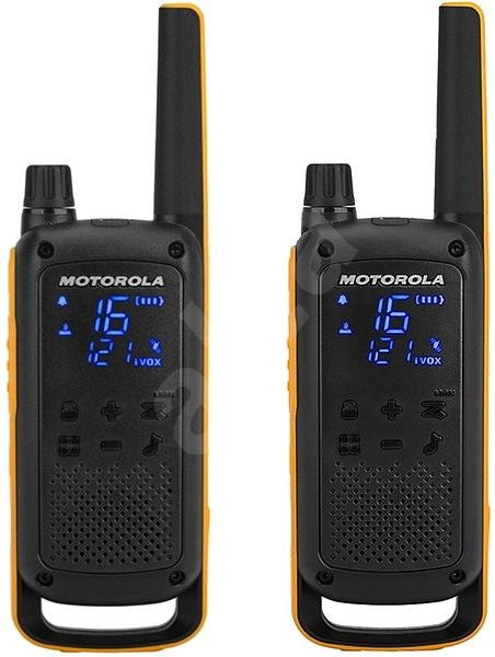 Motorola TLKR T82 Extreme, yellow/black - Walkie Talkie