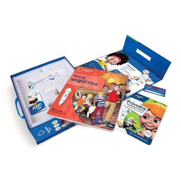 Kouzelné čtení - Elektronická tužka s knihou Hravá angličtina - Kniha pro děti