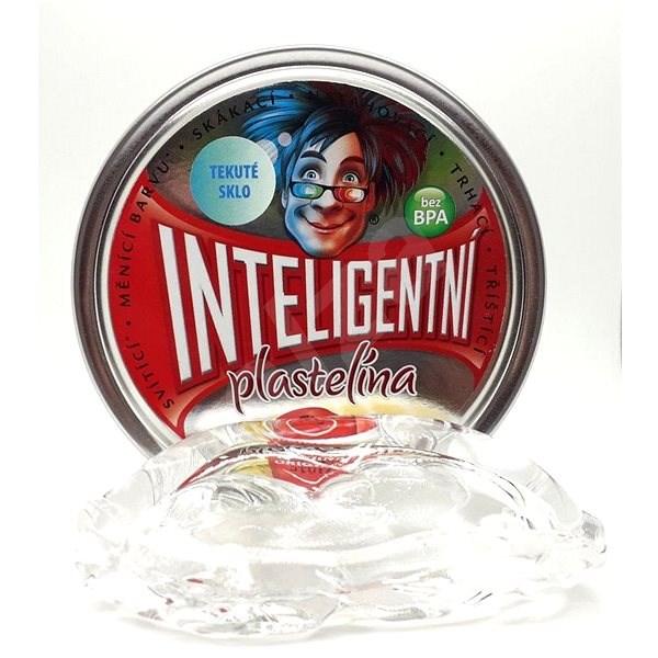 Inteligentní plastelína - Tekuté sklo (křišťálová) - Modelovací hmota
