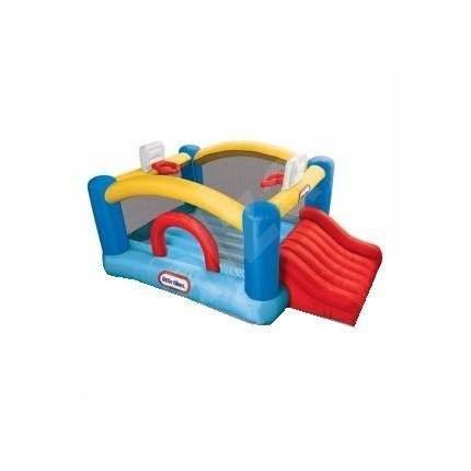 Little Tikes Junior Sports´n Slide Bouncer - Skákací hrad