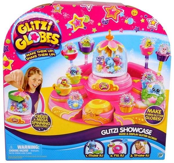 Glitters - Třpytivá sněžítka Kolotoč - Kreativní sada