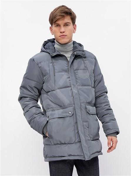 ZOOT Šedá pánská prošívaná zimní bunda M - Bunda