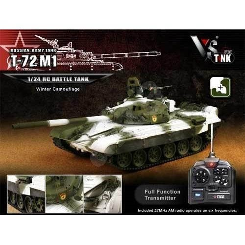 VsTank PRO Airsoft Russian T72 M1 Winter - RC model