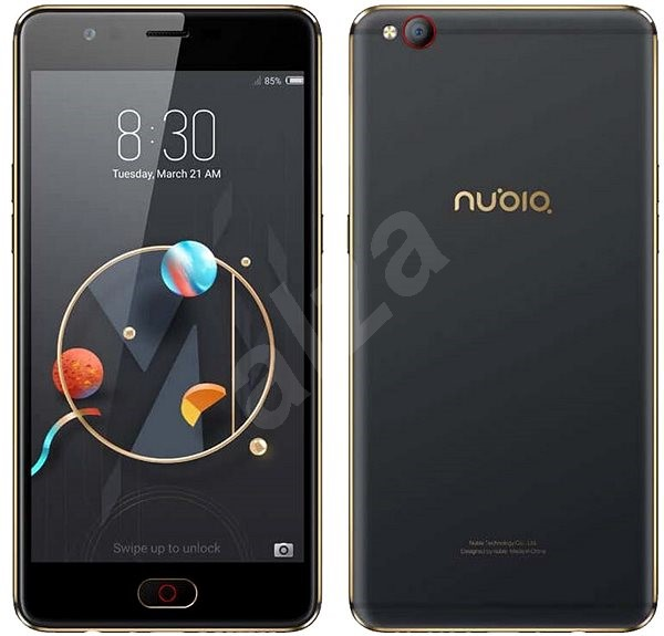 Nubia M2 Lite Black Gold 32GB - Mobilní telefon  2ec95662db
