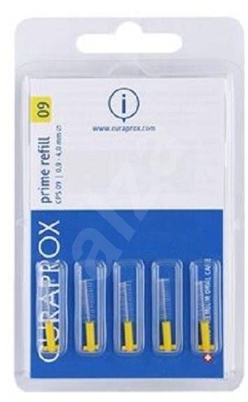 CURAPROX Prime Refill CPS 09 yellow 5 ks - náhrada - Mezizubní kartáček