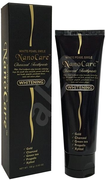 WHITE PEARL NanoCare Gold Whitening 100 g - Zubní pasta