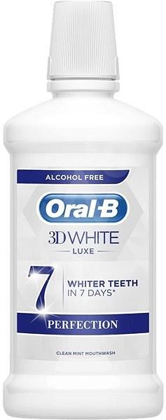 Oral-B 3D White Luxe Perfection 500 ml - Ústní voda