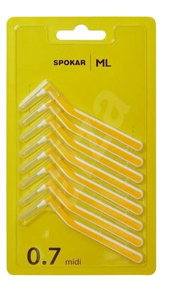 SPOKAR ML 0,7 mm 8 ks - Mezizubní kartáček