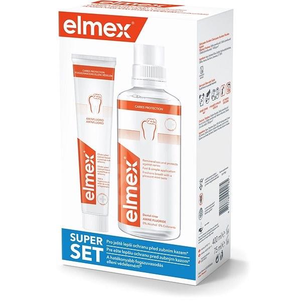 ELMEX Caries Protection Ústní voda + zubní pasta - Sada pro ústní hygienu
