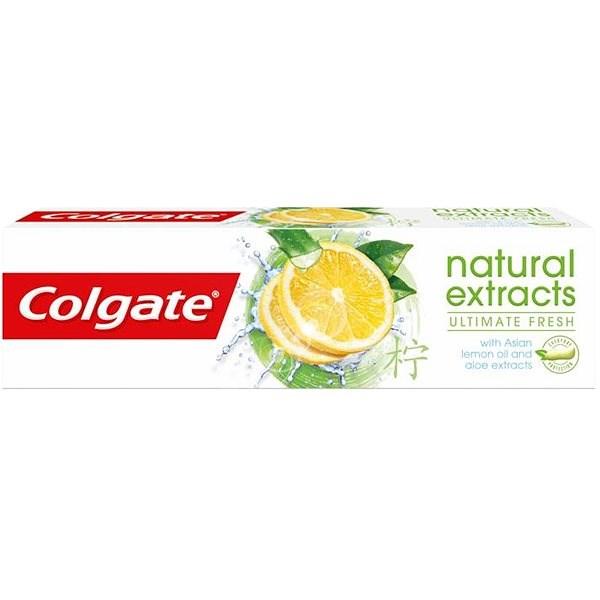 COLGATE Naturals Ultimate Fresh Lemon 75 ml - Zubní pasta
