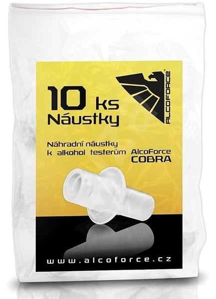 AlcoForce COBRA  Náustky 10 ks - Náustek