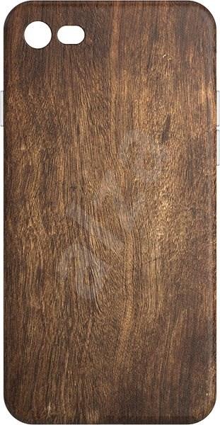 AlzaGuard - iPhone 7/8/SE 2020 - Tmavé dřevo - Kryt na mobil