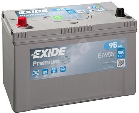 EXIDE Premium 95Ah, 12V, EA955 - Autobaterie