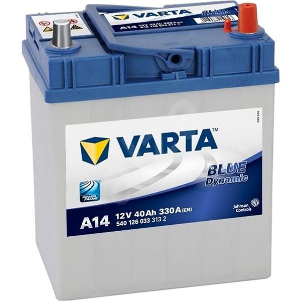 VARTA BLUE Dynamic 40Ah, 12V, A14 - Car Battery