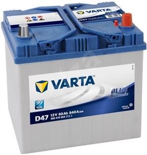 VARTA BLUE Dynamic 60Ah, 12V, D47 - Car Battery